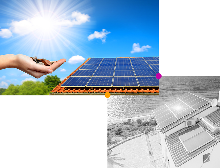 What is the purpose of a photovoltaic panel